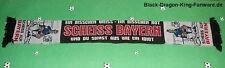 """Anti Bayern Schal """"EIN BISSCHEN WEISS.."""" Ultra Fan Block Scarf 100% Acryl neu"""