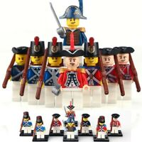 21 Pirates of the Caribbean Imperial Army Legoed Soldier Figures Blocks Toys Set