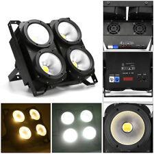 4×100w 400w COB LED Blinder DMX PAR luce illuminazione dello stage, effetti di luce LAMP