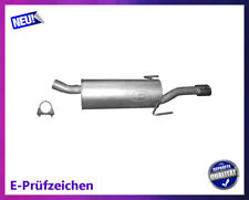 Endschalldämpfer Opel Astra H / GTC / Caravan 1.9 CDTI Auspuff Schelle Chrom