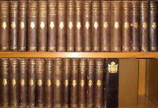LEATHER Set;WORKS VICTOR HUGO!(Complete 30VOL!)HOLLAND PAPER EDITION! 1892 RARE!