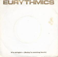 "EURYTHMICS - It's Alright - 7"" Single - RCA - PB40375 - 1985 - Electro - Europe"