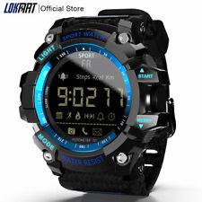 LOKMAT montre intelligente 2020 bluetooth numérique hommes horloge podomètre