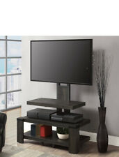 whalen 3-shelf Television stand with flotor mounts for TV's up to 55''