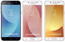 """Samsung Galaxy C8 Duos C7100 Gold 5.5"""" 13MP+5MP Dual Cam 4/64GB Phone By FedEx"""