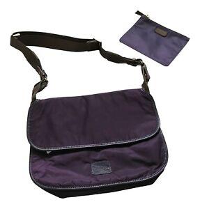 Paul Smith Shoulder bag  Dip Dye Nylon  Plum