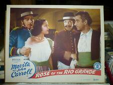 ROSE OF THE RIO GRANDE, orig 1948 LC #4 (Movita, JohnCarroll)