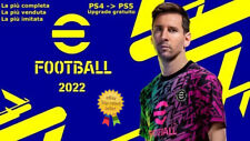 AGGIORNAMENTO PATCH Pro Evolution Soccer PES 2022 PS4 / PS5 eFOOTBALL