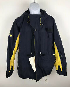 VTG RLX Polo Sport Goretex Ski Snow Parka Jacket Water Resistant Ralph Lauren M