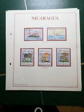 NICARAGUA, LOT timbres oblitérés et/ou neufs, VF STAMPS
