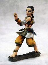 Esmeria Half Elf Monk Reaper Miniatures Dark Heaven Legends Fighter Sai Melee