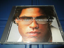 LENNY KRAVITZ - PROMO INTERVIEW PICTURE DISC CD - VERY RARE - 2000