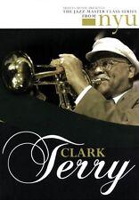 Clark Terry The Jazz Master Class Series from Nyu 2-Dvd Set Dvd New 000320788