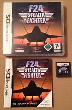F24 stealth fighter jeu pour Ds Dsi Ds Lite 3Ds Nintendo complet & testé