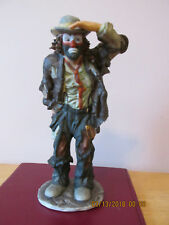 Emmett Kelly Jr-Flambro-Limited Collection-Looking Out To See No10996 Of 12000
