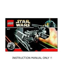 (Instructions) LEGO Set 8017 Darth Vader's TIE Fighter - INSTRUCTION MANUAL ONLY