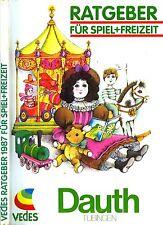 Vedes Spielwaren-Katalog / Ratgeber 1987 /  256 Seiten
