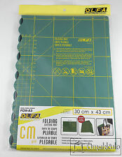 OLFA - Folding Cutting Mat - A3 30cm x 43cm - GREEN FCM-A3 -*