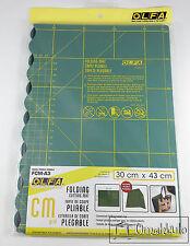 OLFA - Folding Cutting Mat - A3 30cm x 43cm - GREEN FCM-A3 -*