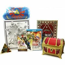 HYRULE WARRIORS ZELDA MUSOU TREASURE BOX LIMITED WII U NTSC JAP NUOVO NEW