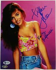 "Tiffani Thiessen Signed 8x10 Photo ""Kelly Kapowski"" Auto w/ Beckett BAS COA"