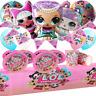 Merbaby LOL SURPRISE DOLL toppers Party Balloon cake Supplies cup plates banner