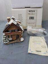 "Hawthorne Village Mj Hummel ""Company's Coming� Bavarian Xmas Cottage 827018"