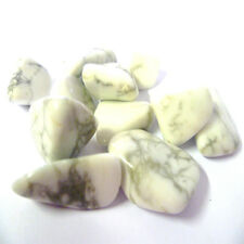 Howlite Tumbled Crystal For Study & Memory, Health & Healing, Stress & Rage