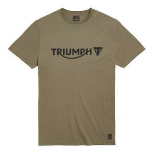 Triumph Motorcycle Cartmel Khaki Men's T-Shirt