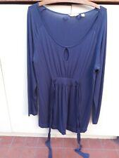 RIPE MATERNITY Top Size L Long Sleeve Dark Blue