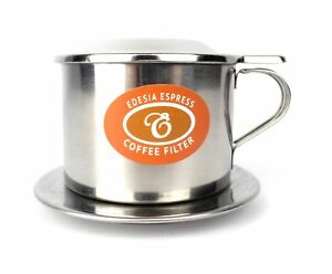 Size 6 Vietnamese Coffee Cup Filter Stainless Steel Phin Cà Phê - SCREW FILTER