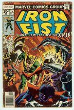 Marvel Comics Iron Fist #15 1977 Early John Byrne X-Men Low Grade No CGC