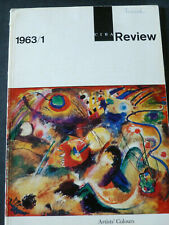 CIBA REVIEW Issue 1963/1 – ARTISTS' COLOURS - Scarce monograph