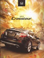 2013 13 Honda  Crosstour  Original Sales Brochure