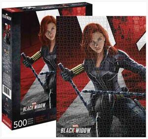 500 piece Puzzle MARVEL Universe BLACK WIDOW Movie Licensed Scarlett Johanssen