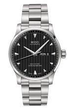 Mido Multifort Gent Silver Black Chronometer Analog Men's Watch M005.431.11.441