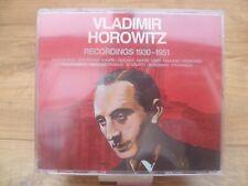 Vladimir Horowitz, Horowitz - Recordings 1930-1951 [New CD]