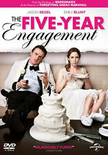 DVD:THE FIVE YEAR ENGAGEMENT - NEW Region 2 UK