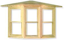 1 12 Scale Sash Bay Window Frame Dolls House Miniature Accessory 085