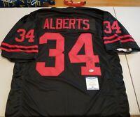 Nebraska Trev Alberts Autographed Signed Black Jersey BAS Witnessed Cornhuskers