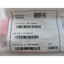 Cisco Original SFP-10G-SR transceiver NEW SEALED! Genuine 10GBASE-SX