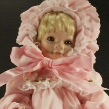 "Collectible Concepts Porcelain Doll ""Rosebud"" Beverly Stoehr"