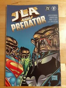 JLA vs Predator # 1 / Prestige Format One Shot / Justice League / Batman / 2001