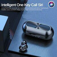 TWS True Wireless Earphones Bluetooth 5.0 Headset Mini Earbuds Stereo Headphones