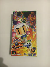 Super Bomberman 4 Nintendo Super Famicom