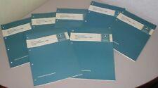 Werkstatthandbuch Mercedes W 123 124 126 201 R 107 in 7 Bänden Stand 1985!