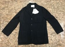 AGNONA Men's Black Cashmere Cardigan/Jacket