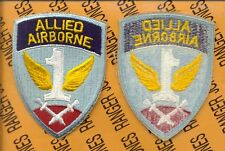 US Army Allied Airborne Command Veterans patch c/e