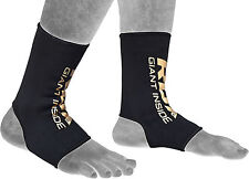 RDX Ankle Foot Support Anklet Pair Pads MMA Brace Guards Sports Boxing OS