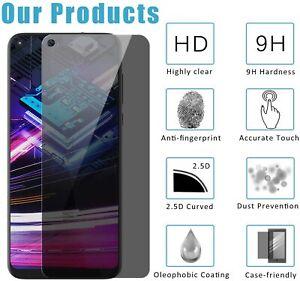 For Motorola G8 Power/Moto G Stylus 2020 Screen Protector Glass Anti-Spy Privacy